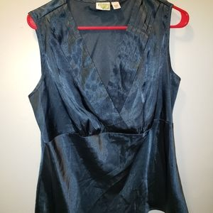 Cato silky top 14/16w dressy worn once